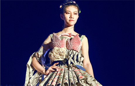 University garment design contest turns trash into art