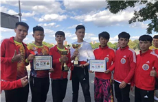 Suixi troupe takes gold and silver at intl lion king contest