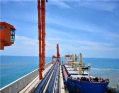 Leizhou's 100,000-dwt coal wharf operational
