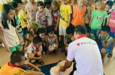 Zhanjiang brings drowning prevention education to villages