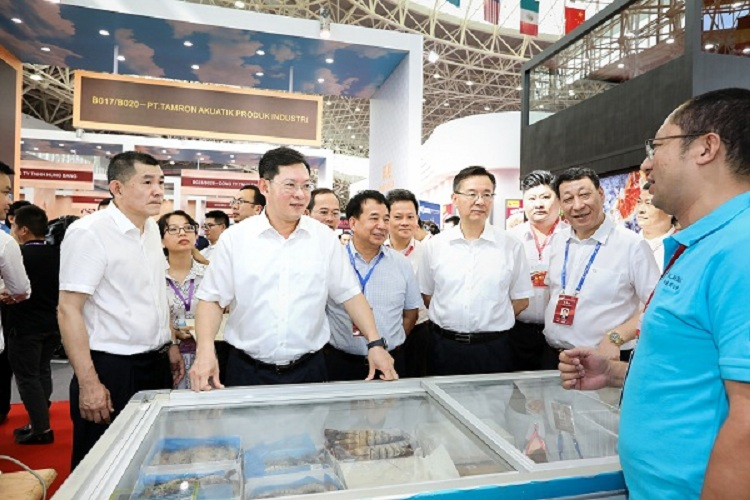 Zhanjiang holds Int'l Aquatic Products Expo successfully