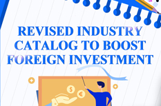 Revised industry catalog to boost foreign investment