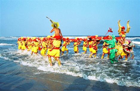 Zhanjiang Human Dragon Dance