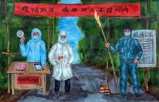 Wuchuan online art exhibition celebrates anti-epidemic workers