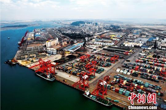 北部湾防港城码头chinanews.jpg