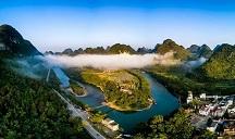 Top 10 popular scenic spots in Hechi in 2020