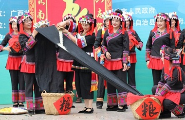 4 examples of Hechi recommended as national intangible cultural heritage items