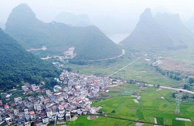 Luocheng shows off picturesque rural scenery