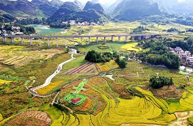 Nandan Rice Fields and Flower Sea Pastoral Complex