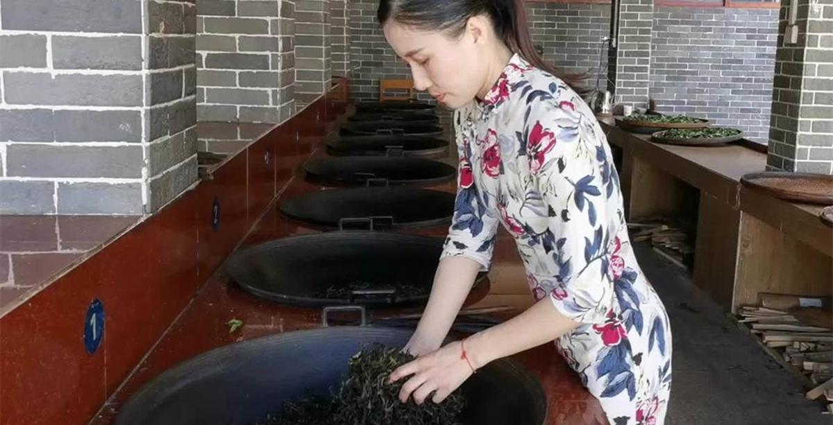 Tea aroma lingers in mountainous village