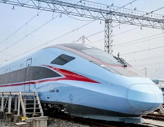 New Fuxing bullet trains start trial operations in China's Guangxi