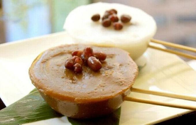 Bowl rice pudding