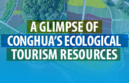 A glimpse of Conghua's ecological tourism resources