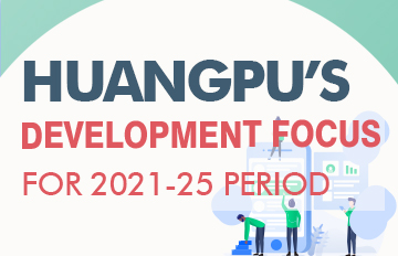 Huangpu's development focus for 2021-25 period