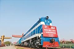 China-Europe Express resumes operation in Guangzhou
