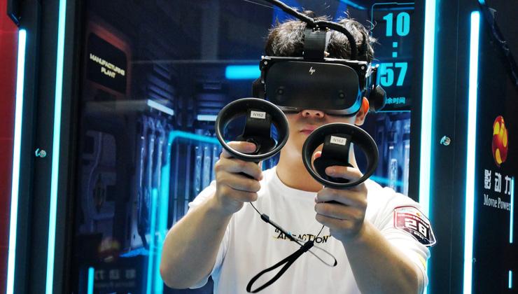 Cutting-edge VR, AR tech takes off at fair