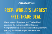 RCEP: World's largest free-trade deal