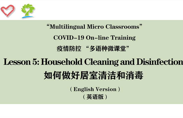 How to do household cleaning and disinfection
