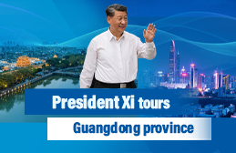 President Xi tours Guangdong Province
