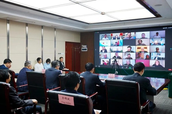 Guizhou, Argentina hold video meeting on poverty alleviation