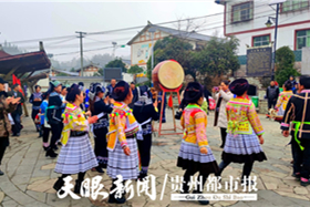 Shilong village celebrates Chinese New Year