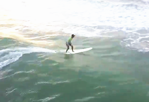Surfing in Wanning City