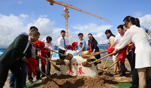 Leying hospital begins construction in Lecheng