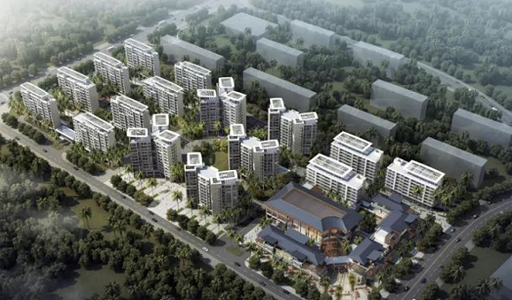 Lecheng's first business, living complex to finish construction in March 2022