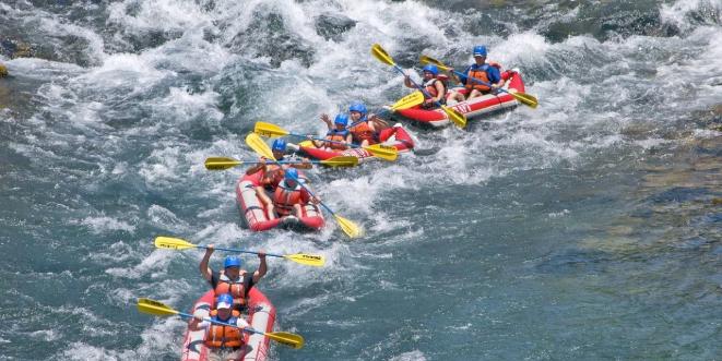 Qionghai Wanquan River Rafting (3A-Level)