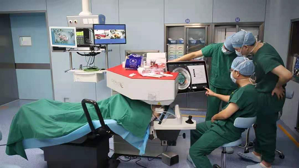 Precision laser system by JNJ Vision enters Chinese market