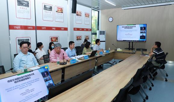 Lecheng welcomes more Singaporean pharmaceutical companies