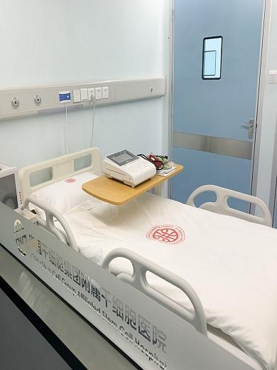 クラス100の無菌層流病室