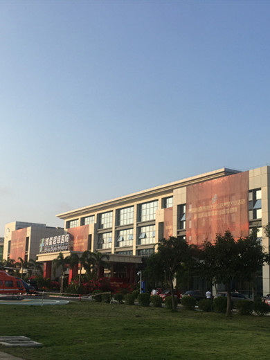 Внешний вид больницы