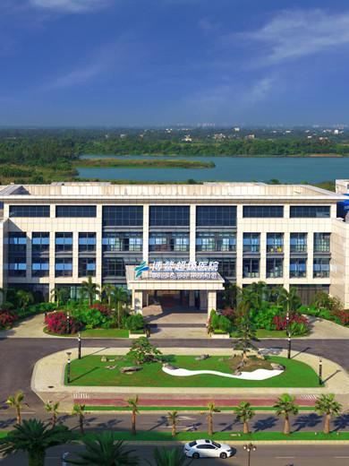 Вид с воздуха на больницу