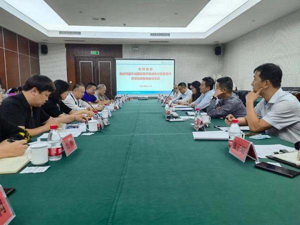 Делегация Лэчэн посетила Шаньдун, чтобы привлечь больше ресурсов
