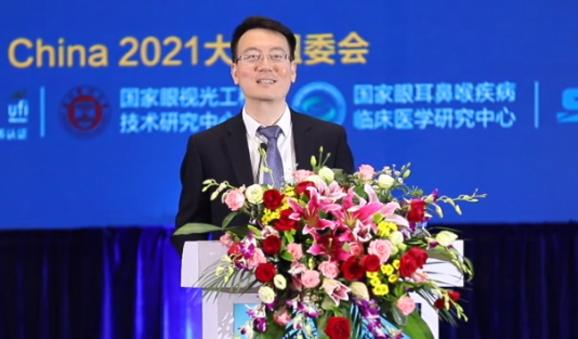 Директор продвигает Лэчэн на национальной офтальмологической конференции