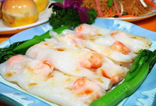 Hainan Rice Noodle Rolls