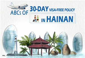 ABCs of 30-day visa-free policy in Hainan