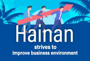 Hainan striving for better business environment