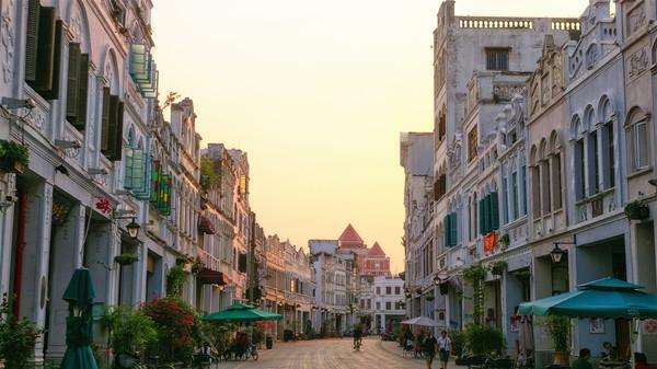 Qilou Old Street in Haikou