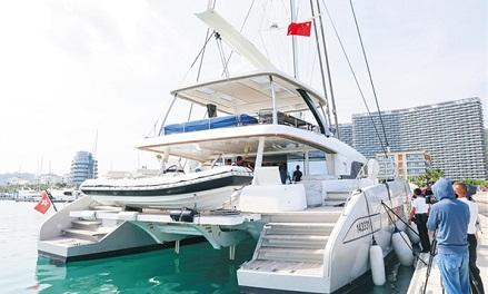 Hainan-HK-Macao 'free flow of yachts' begins following first HK catamaran's entry in Sanya