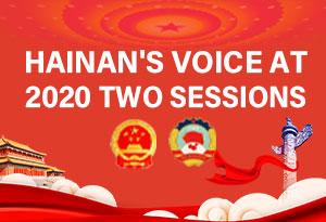 Hainan at 2020 two sessions