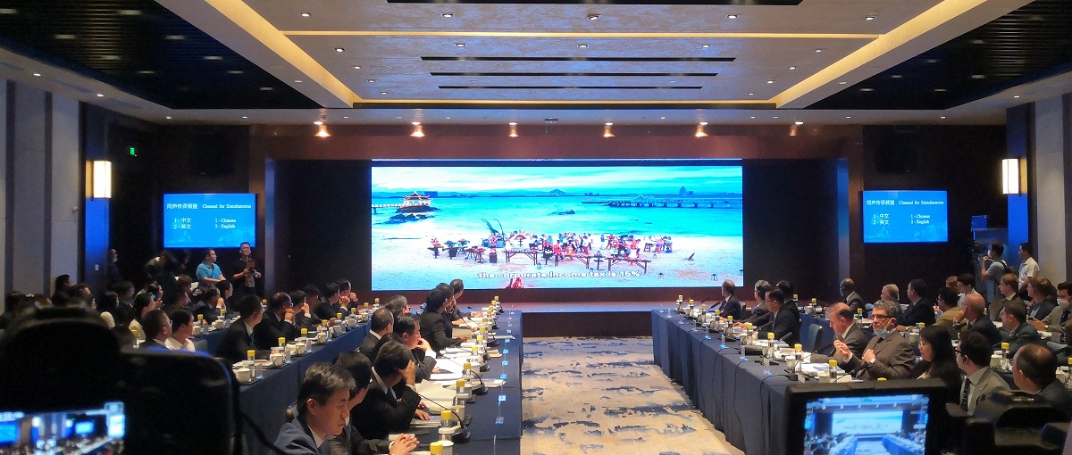 Foreign diplomats from 37 countries visit Hainan free trade port