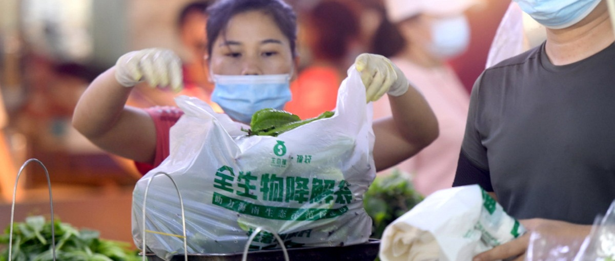Hainan leads in banning non-biodegradable plastic