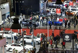 New energy and smart vehicles shine at auto show in Hainan