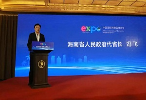 Hainan holds 100-day countdown ceremony for international consumer products expo