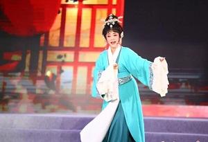 Hainan Opera illuminates the Ding'an night