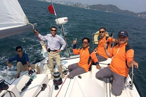 French captain finds berth where he feels at home