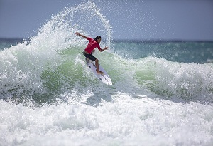 Hainan sweeps surfing golds at China's National Games