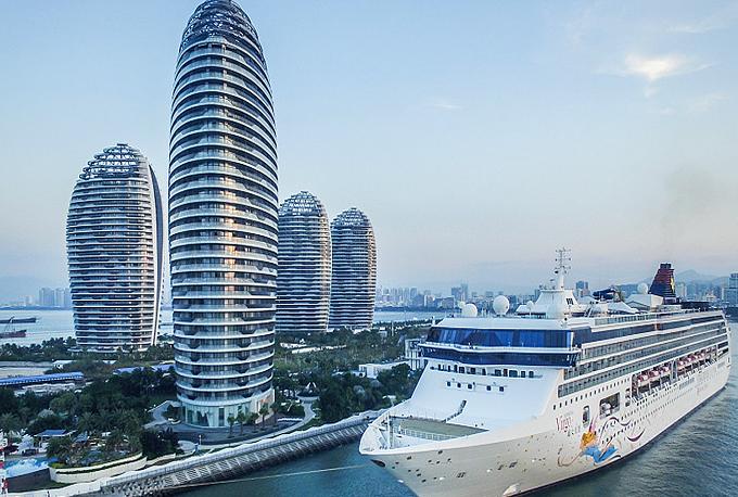 Hainan's port progress plotted